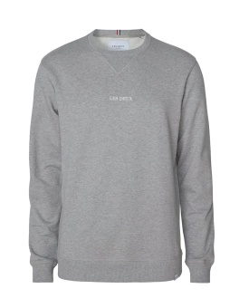 Lens Sweatshirt Light Grey/White