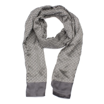 Scarf Chain Pattern Grey