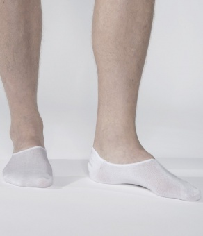 Noshow Socks 3-Pack White
