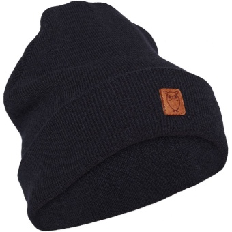 Beanie Organic Wool Total Eclipse