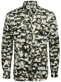 Bryson Camo Shirt Sea Turtle