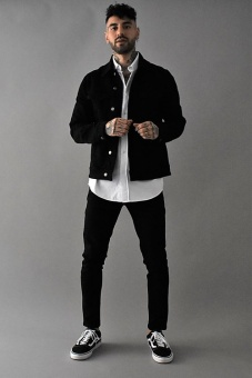 Johan Denim Jacket Black