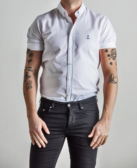 Herrman SS Shirt White