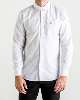 Herrman Oxford Shirt White