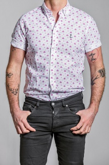 Herrman SS Shirt Mixed Flower