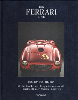 The Ferrari Book Blue