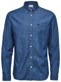 Collect Shirt Medium Blue Denim