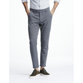 Como Pants Grey Melange