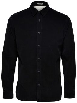 Craig Cord Shirt Black
