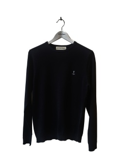David Thin Knit Black
