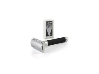 Double Edge Safety Razor Knurled