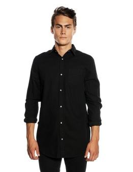 Frank Denim Shirt Black