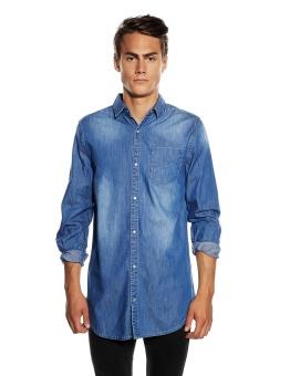Frank Denim Shirt Classic Blue