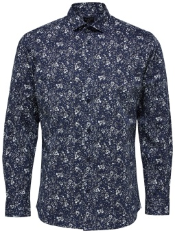 Freddie Camp Shirt Dark Navy