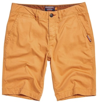 Int Chino Shorts Mandarin Orange