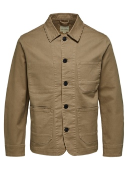 Jackson Cotton Jacket Cornstalk