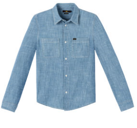 Worker Shirt Workwear Blue