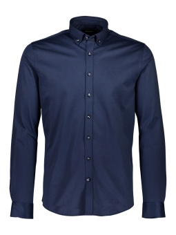 Stretch Knitted Shirt Dark Blue