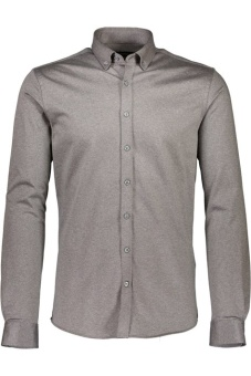 Stretch Knitted Shirt Grey