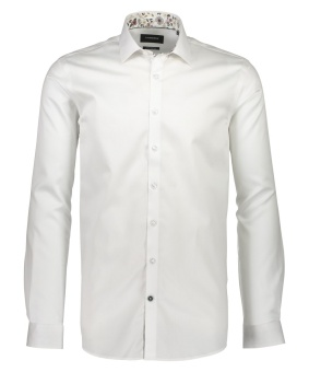 Technical Melange Shirt White