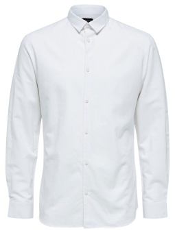 Linen Shirt LS White