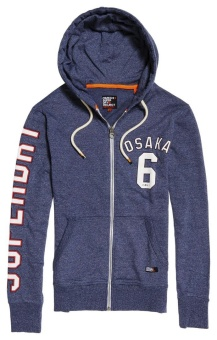 Osaka Lite Weight Ziphood Poolside Blue