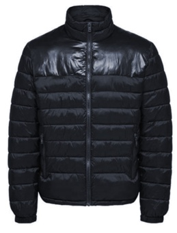 Nathan Puffer Jacket Sky Captain