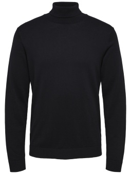 Tower Roll Neck Black
