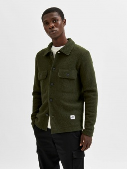 New Neal Knit Workwear Forest Night