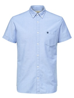 Twocollect Shirt SS Light Blue