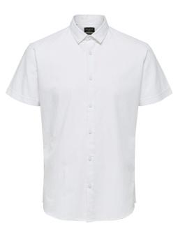 Linen Shirt Classic SS White
