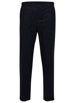 Dave Linen Pants Sky Captain