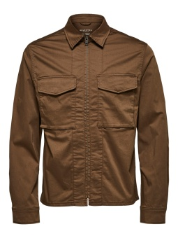 Adam Zip Jacket Teak