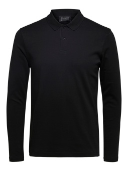 Paris LS Polo Black