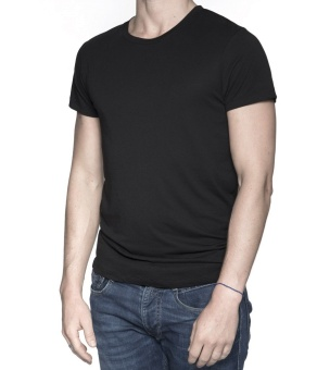 Men T-Shirt Black