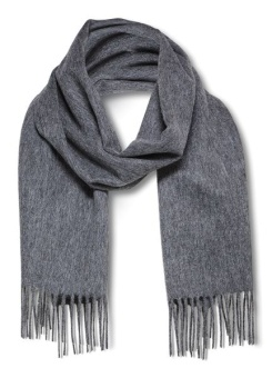Tope Scarf Medium Grey