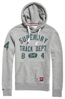 Trackster Hood Track Grey