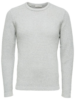 Victor Crew Neck Light Grey