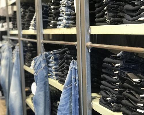 Överblick av butik