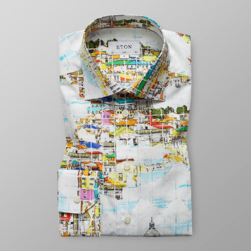 Slim Fit Lissabon Motiv