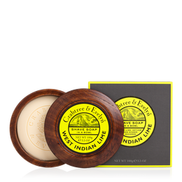 Shave Soap Bowl Lime