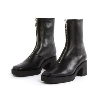 Zip Boots Black