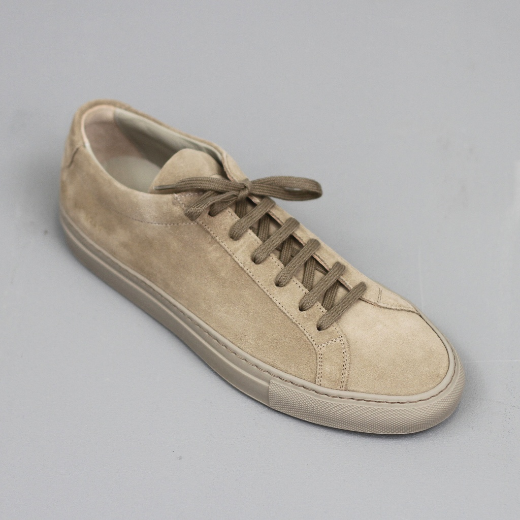 Common Projects Achilles Taupe Suede