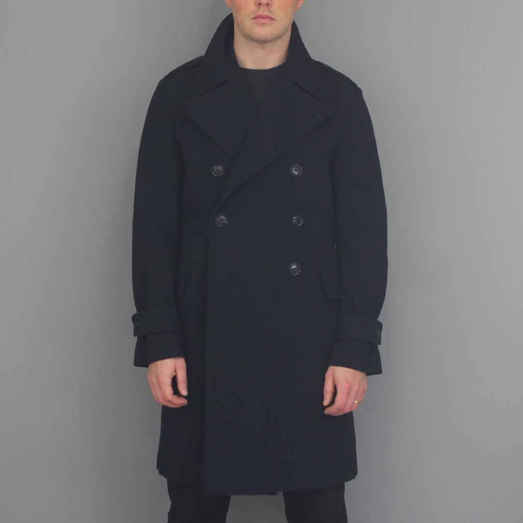 Aspesi Tito Coat Navy