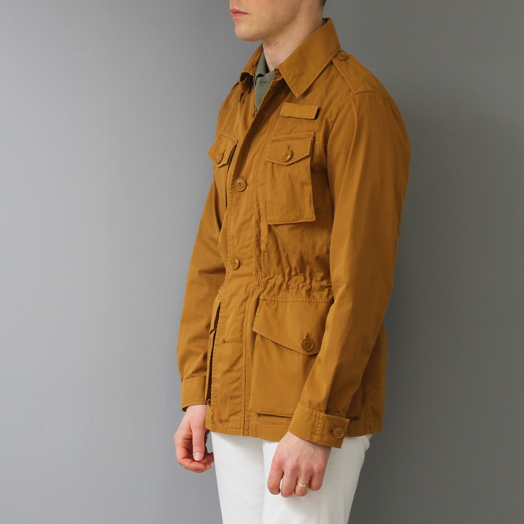 Aspesi Field Jacket Cotton Turmeric