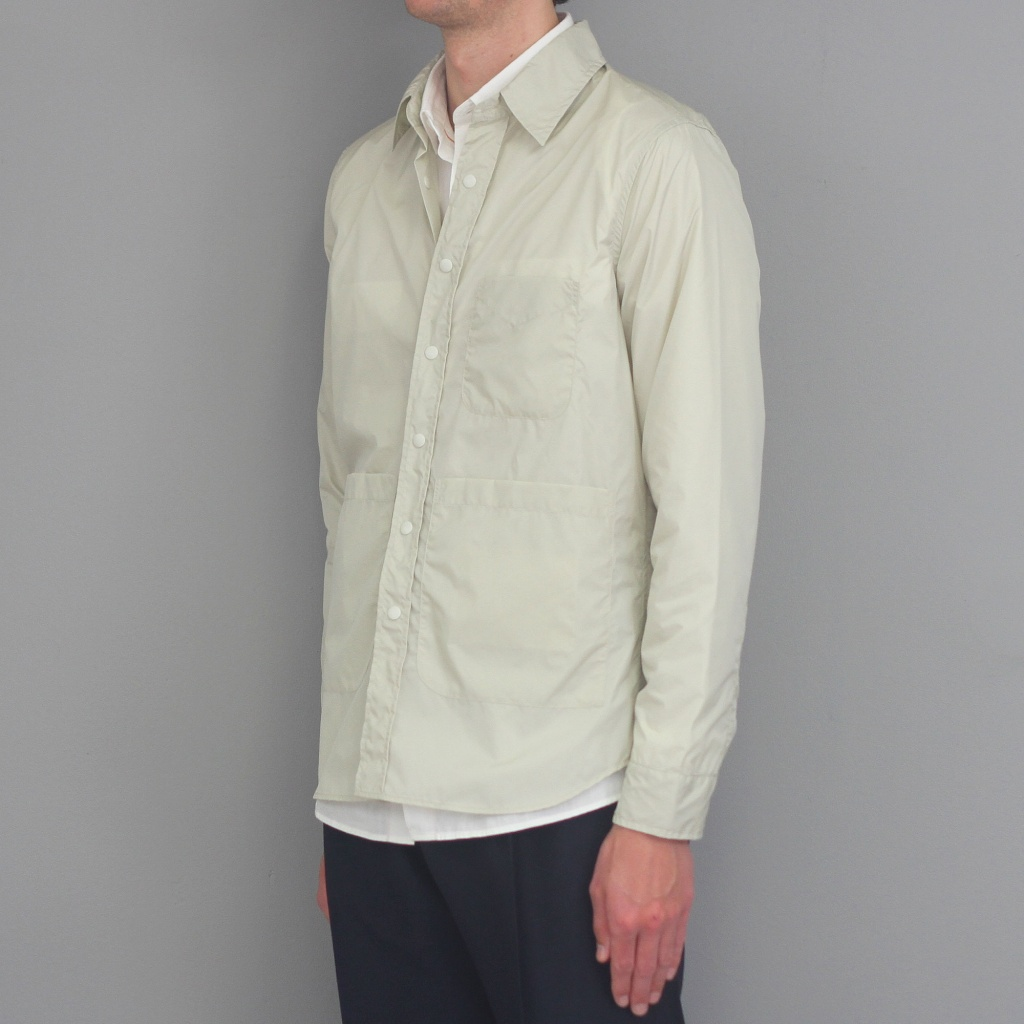 "Aspesi Overshirt ""Invisible"" Silver"