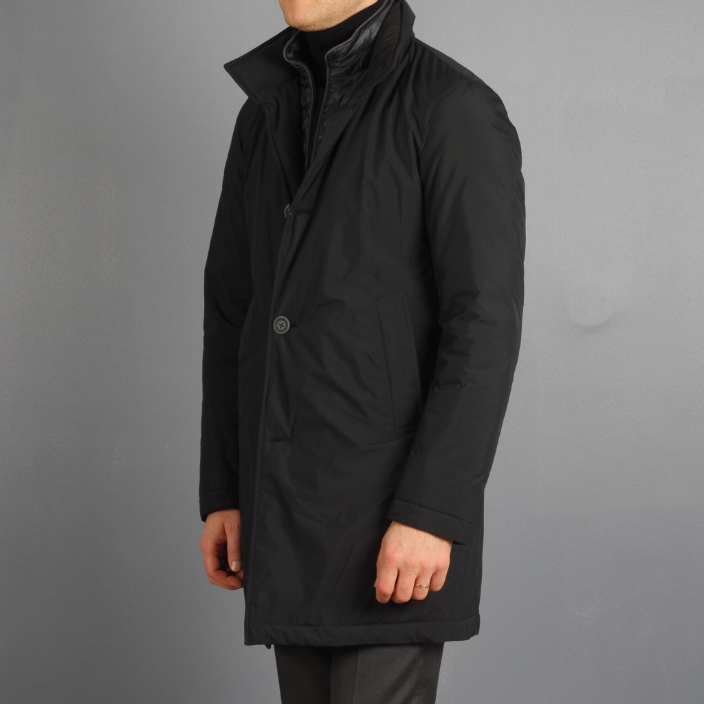Herno Down Coat Navy