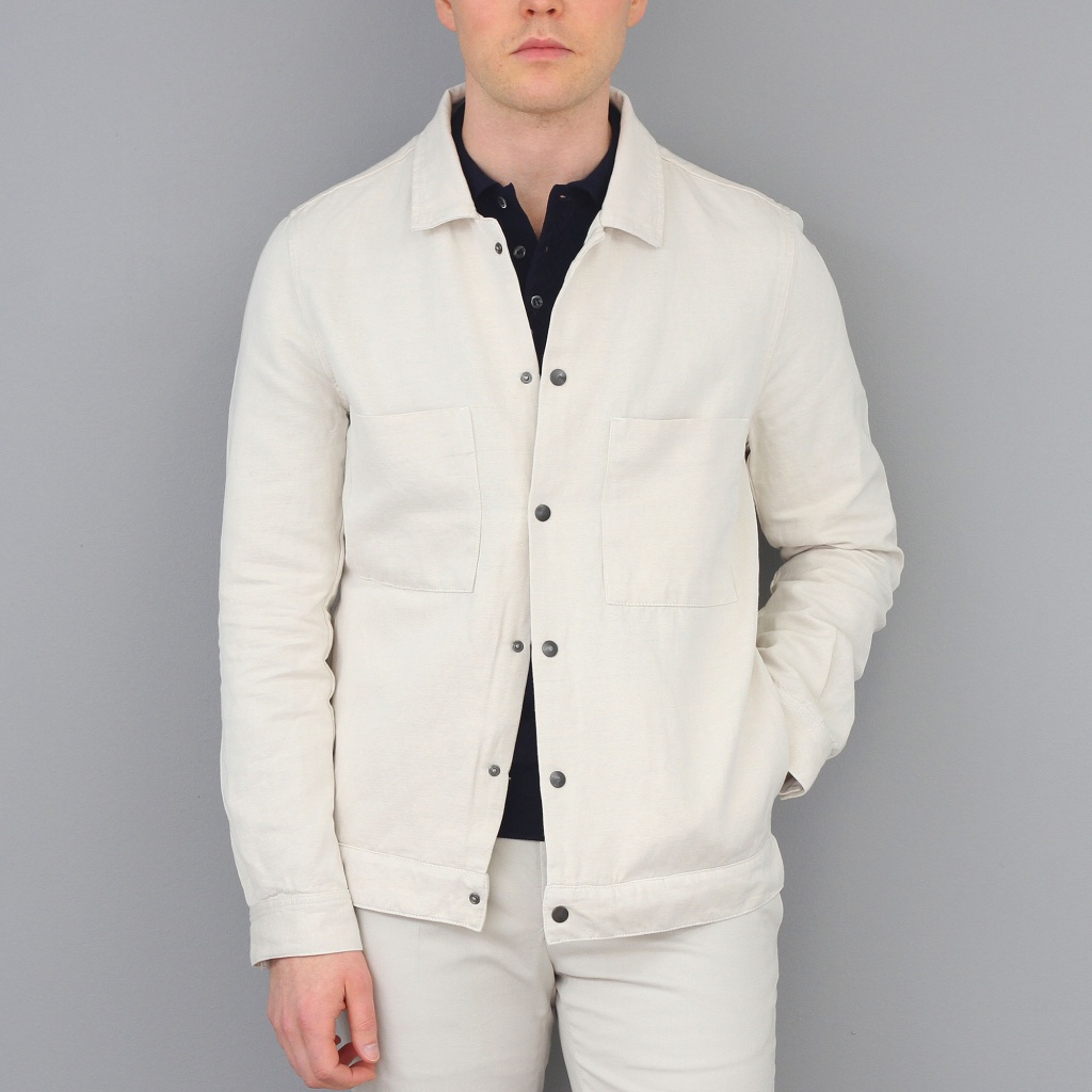 CoF Cruise Jacket Cotton/Linen Ecru