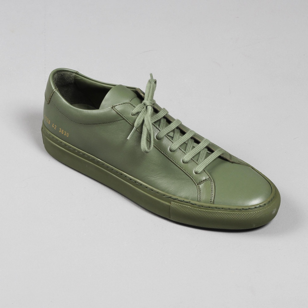 Common Projects Achilles Army Green