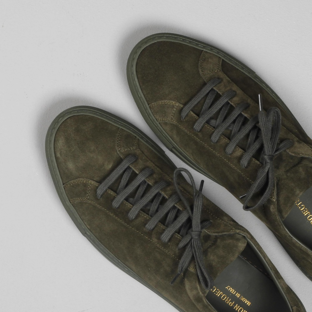 Common Projects Achilles Olive Suede